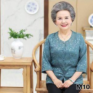 thời trang phụ nữ tuổi 60