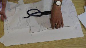 Công thức cắt may thân trước của vest nữ thời trang