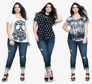 cách phối quần áo cho người béo