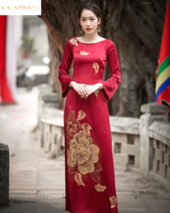 huong dan cat may ao dai co thuyen